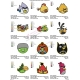 12 Angry Birds Embroidery Designs Collections 05