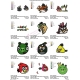 12 Angry Birds Embroidery Designs Collections 07