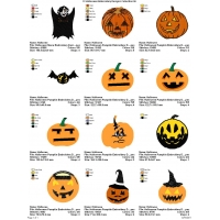 12 Halloween Embroidery Designs Collection 06