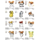 12 Hamtaro Embroidery Designs Collections 03