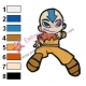 Aang Embroidery Design