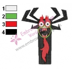 Aku Embroidery Design