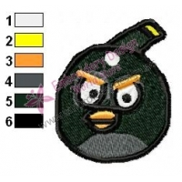 Angry Birds Embroidery Design 039