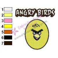 Angry Birds Embroidery Design 043