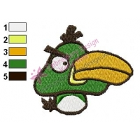 Angry Birds Embroidery Design 049