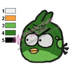 Angry Birds Space Embroidery Design 02
