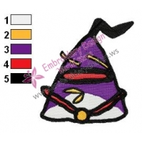 Angry Birds Space Embroidery Design 06