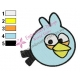Angry Birds Space Embroidery Design 11