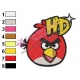 Angry Birds Space Embroidery Design 19