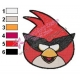 Angry Birds Space Embroidery Design