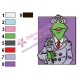 Announcer Kermit Muppets Embroidery Design