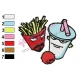 Aqua Teen Hunger Force Embroidery Design