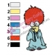 Baby Beaker Muppets Embroidery Design 02