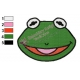 Baby Kermit Muppets Embroidery Design