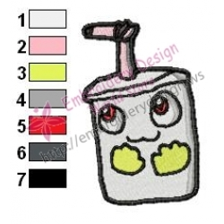 Baby Master Shake Embroidery Design