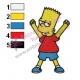 Bart Simpsos Simpsons Embroidery