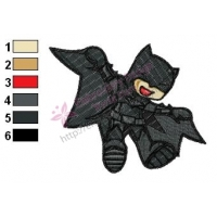 Batman Boy Embroidery Design
