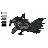 Batman Embroidery Design 05