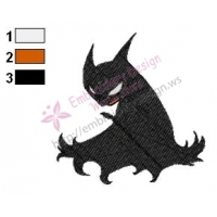 Batman Embroidery Design 09