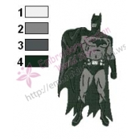Batman Embroidery Design 11