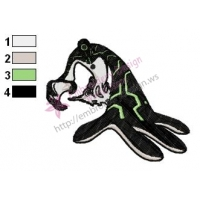 Ben 10 Alien Force Embroidery Design