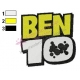 Ben 10 Logo Embroidery Design 03