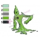 Ben10 Alien Force Goop Embroidery Design