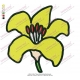 Best Yellow Flower Embroidery Design