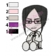 Bleach Chibi Uryu Embroidery Design