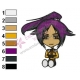 Bleach Chibi Yoruichi Embroidery Design