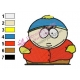 Cartman South Park Embroidery Design
