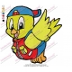 Cartoon Baby Bird Embroidery Design
