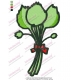 Cartoon Vegetable Embroidery Design 03