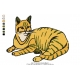 Cats Embroidery Design 6
