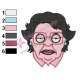 Consuela Family Guy Embroidery Design