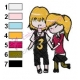 Cooper and Gwen Ben10 Embroidery Design