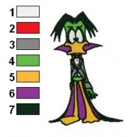 Count Duckula Embroidery Design 04