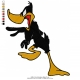 Daffy Duck Embroidery Bird 07