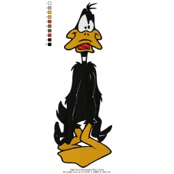Daffy Duck Embroidery Bird 13