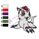 Digimon Gomamon Embroidery Design 02