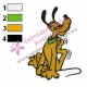 Dog pluto Embroidery Cartoon 12