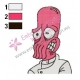 Dr Zoidberg Futurama Embroidery Design