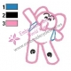 Elly Pocoyo Outside Line Embroidery Design 02