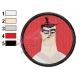 Face of Samurai Jack Embroidery Design 02