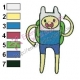 Finn Adventure Time Embroidery Design 04