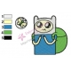 Finn Adventure Time Embroidery Design 06