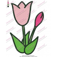 Flower Embroidery Design 16