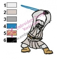 Foul Star Wars Embroidery Design