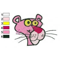 Free Pink Panther Embroidery Design