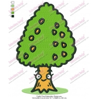 Fruitful Tree Embroidery Design